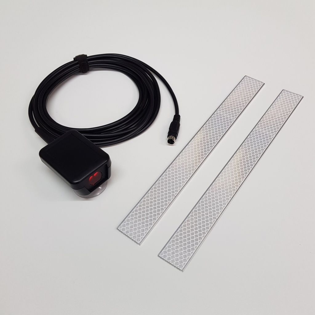 Kit for automatic W measure on a track using a CD400